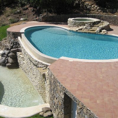 Pebble Pro Pool Finishes - Portugal – Atlantic Blue Pebble